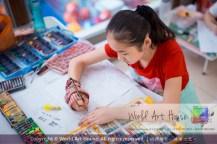 Malaysia Kota Damansara Petaling Jaya Kuala Lumpur Selangor Chinese New Year Charity Coloring Contest World Art House 世界艺术画室 and 1 Utama Shopping JinYeYe Effye Media C065
