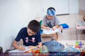 Malaysia Kota Damansara Petaling Jaya Kuala Lumpur Selangor Chinese New Year Charity Coloring Contest World Art House 世界艺术画室 and 1 Utama Shopping JinYeYe Effye Media C067