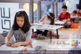 Malaysia Kota Damansara Petaling Jaya Kuala Lumpur Selangor Chinese New Year Charity Coloring Contest World Art House 世界艺术画室 and 1 Utama Shopping JinYeYe Effye Media C070