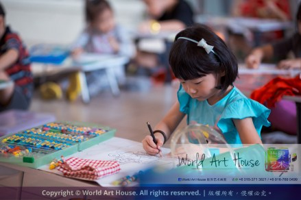 Malaysia Kota Damansara Petaling Jaya Kuala Lumpur Selangor Chinese New Year Charity Coloring Contest World Art House 世界艺术画室 and 1 Utama Shopping JinYeYe Effye Media A029