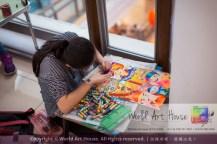 Malaysia Kota Damansara Petaling Jaya Kuala Lumpur Selangor Chinese New Year Charity Coloring Contest World Art House 世界艺术画室 and 1 Utama Shopping JinYeYe Effye Media C086
