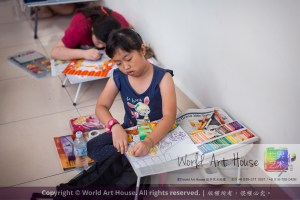 Malaysia Kota Damansara Petaling Jaya Kuala Lumpur Selangor Chinese New Year Charity Coloring Contest World Art House 世界艺术画室 and 1 Utama Shopping JinYeYe Effye Media C089