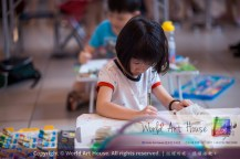 Malaysia Kota Damansara Petaling Jaya Kuala Lumpur Selangor Chinese New Year Charity Coloring Contest World Art House 世界艺术画室 and 1 Utama Shopping JinYeYe Effye Media A030