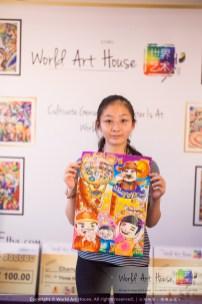 Malaysia Kota Damansara Petaling Jaya Kuala Lumpur Selangor Chinese New Year Charity Coloring Contest World Art House 世界艺术画室 and 1 Utama Shopping JinYeYe Effye Media C097