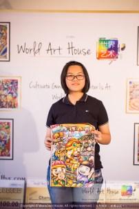 Malaysia Kota Damansara Petaling Jaya Kuala Lumpur Selangor Chinese New Year Charity Coloring Contest World Art House 世界艺术画室 and 1 Utama Shopping JinYeYe Effye Media C099