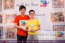 Malaysia Kota Damansara Petaling Jaya Kuala Lumpur Selangor Chinese New Year Charity Coloring Contest World Art House 世界艺术画室 and 1 Utama Shopping JinYeYe Effye Media D022