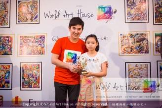 Malaysia Kota Damansara Petaling Jaya Kuala Lumpur Selangor Chinese New Year Charity Coloring Contest World Art House 世界艺术画室 and 1 Utama Shopping JinYeYe Effye Media D023