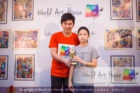 Malaysia Kota Damansara Petaling Jaya Kuala Lumpur Selangor Chinese New Year Charity Coloring Contest World Art House 世界艺术画室 and 1 Utama Shopping JinYeYe Effye Media D025