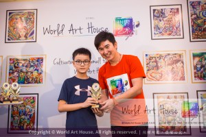Malaysia Kota Damansara Petaling Jaya Kuala Lumpur Selangor Chinese New Year Charity Coloring Contest World Art House 世界艺术画室 and 1 Utama Shopping JinYeYe Effye Media D029