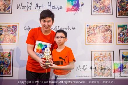 Malaysia Kota Damansara Petaling Jaya Kuala Lumpur Selangor Chinese New Year Charity Coloring Contest World Art House 世界艺术画室 and 1 Utama Shopping JinYeYe Effye Media D036