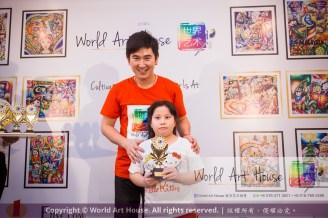 Malaysia Kota Damansara Petaling Jaya Kuala Lumpur Selangor Chinese New Year Charity Coloring Contest World Art House 世界艺术画室 and 1 Utama Shopping JinYeYe Effye Media D045