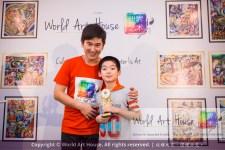 Malaysia Kota Damansara Petaling Jaya Kuala Lumpur Selangor Chinese New Year Charity Coloring Contest World Art House 世界艺术画室 and 1 Utama Shopping JinYeYe Effye Media D048