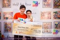 Malaysia Kota Damansara Petaling Jaya Kuala Lumpur Selangor Chinese New Year Charity Coloring Contest World Art House 世界艺术画室 and 1 Utama Shopping JinYeYe Effye Media D067
