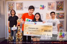 Malaysia Kota Damansara Petaling Jaya Kuala Lumpur Selangor Chinese New Year Charity Coloring Contest World Art House 世界艺术画室 and 1 Utama Shopping JinYeYe Effye Media D076