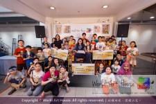 Malaysia Kota Damansara Petaling Jaya Kuala Lumpur Selangor Chinese New Year Charity Coloring Contest World Art House 世界艺术画室 and 1 Utama Shopping JinYeYe Effye Media D079