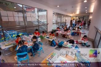 Malaysia Kota Damansara Petaling Jaya Kuala Lumpur Selangor Chinese New Year Charity Coloring Contest World Art House 世界艺术画室 and 1 Utama Shopping JinYeYe Effye Media A052
