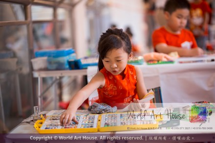 Malaysia Kota Damansara Petaling Jaya Kuala Lumpur Selangor Chinese New Year Charity Coloring Contest World Art House 世界艺术画室 and 1 Utama Shopping JinYeYe Effye Media A055