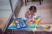 Malaysia Kota Damansara Petaling Jaya Kuala Lumpur Selangor Chinese New Year Charity Coloring Contest World Art House 世界艺术画室 and 1 Utama Shopping JinYeYe Effye Media A061