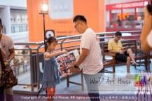 Malaysia Kota Damansara Petaling Jaya Kuala Lumpur Selangor Chinese New Year Charity Coloring Contest World Art House 世界艺术画室 and 1 Utama Shopping JinYeYe Effye Media A066