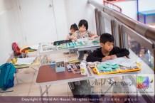 Malaysia Kota Damansara Petaling Jaya Kuala Lumpur Selangor Chinese New Year Charity Coloring Contest World Art House 世界艺术画室 and 1 Utama Shopping JinYeYe Effye Media A078
