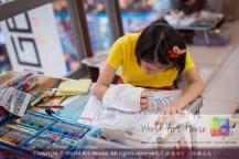 Malaysia Kota Damansara Petaling Jaya Kuala Lumpur Selangor Chinese New Year Charity Coloring Contest World Art House 世界艺术画室 and 1 Utama Shopping JinYeYe Effye Media A082