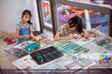 Malaysia Kota Damansara Petaling Jaya Kuala Lumpur Selangor Chinese New Year Charity Coloring Contest World Art House 世界艺术画室 and 1 Utama Shopping JinYeYe Effye Media A093