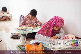 Malaysia Kota Damansara Petaling Jaya Kuala Lumpur Selangor World Art House 世界艺术画室 Charity Coloring Contest Effye Media A011