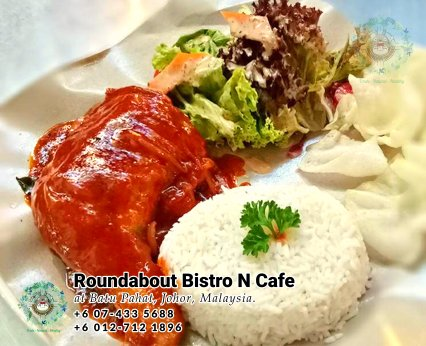 Batu Pahat Roundabout Bistro N Cafe Malaysia Johor Batu Pahat Totoro Cafe Historical Building Cafe Batu Pahat Landmark Buffet Birthday Party Wedding Function Event Kopitiam PB01-23