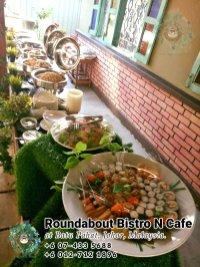 Buffet Batu Pahat Roundabout Bistro N Cafe Malaysia Johor Batu Pahat Totoro Cafe Historical Building Cafe Batu Pahat Landmark Birthday Party Wedding Function Event Kopitiam PC01-10