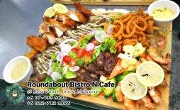 Buffet Batu Pahat Roundabout Bistro N Cafe Malaysia Johor Batu Pahat Totoro Cafe Historical Building Cafe Batu Pahat Landmark Birthday Party Wedding Function Event Kopitiam PC01-45