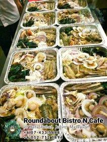 峇株巴辖自助餐龙猫特色中西餐厅 复古式建筑咖啡厅 马来西亚柔佛峇株巴辖地标交通圈小酒馆 公司聚会 Batu Pahat Roudabout Bistro N Cafe PC01-20