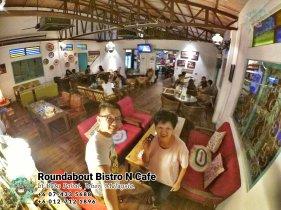 马来西亚柔佛峇株巴辖龙猫特色中西餐厅 复古式建筑咖啡厅 峇株巴辖地标交通圈小酒馆 公司聚会 庆生派对 Batu Pahat Roudabout Bistro N Cafe PA01-21