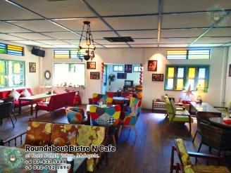 马来西亚柔佛峇株巴辖龙猫特色中西餐厅 复古式建筑咖啡厅 峇株巴辖地标交通圈小酒馆 公司聚会 庆生派对 Batu Pahat Roudabout Bistro N Cafe PA01-06