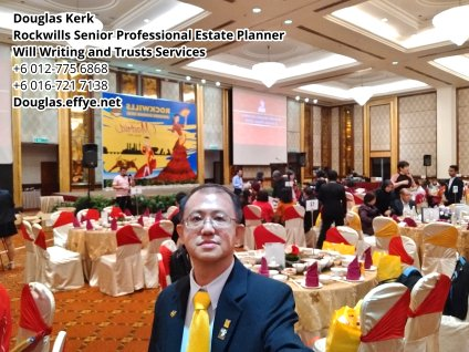 Douglas Kerk Rockwills Senior Professional Estate Planner - Will Writing and Trusts Services Batu Pahat and Kluang Johor Malaysia Property Management PA02-22
