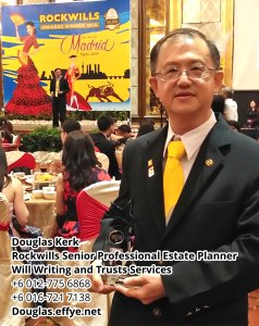 Douglas Kerk Rockwills Senior Professional Estate Planner - Will Writing and Trusts Services Batu Pahat and Kluang Johor Malaysia Property Management PA02-26