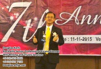 Douglas Kerk Rockwills Senior Professional Estate Planner - Will Writing and Trusts Services Batu Pahat and Kluang Johor Malaysia Property Management PA02-30