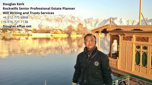 Douglas Kerk Rockwills Senior Professional Estate Planner - Will Writing and Trusts Services Batu Pahat and Kluang Johor Malaysia Property Management PA03-29