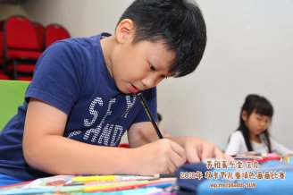 Batu Pahat Gereja Joy Soga Colouring Contest 苏雅喜乐堂主办2018年 峇株巴辖双亲节儿童填色画画比赛 培养儿童对彩色画画的兴趣 发掘美术的潜能 B1-36