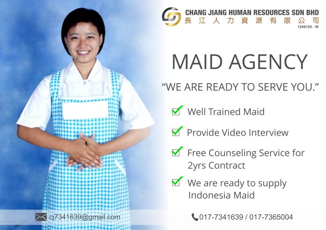 Chang Jiang Human Resources Johor Malaysia Foreign Worker Permit Passport Insurance Consultation Rehiring Workers and Maids EPA01-04