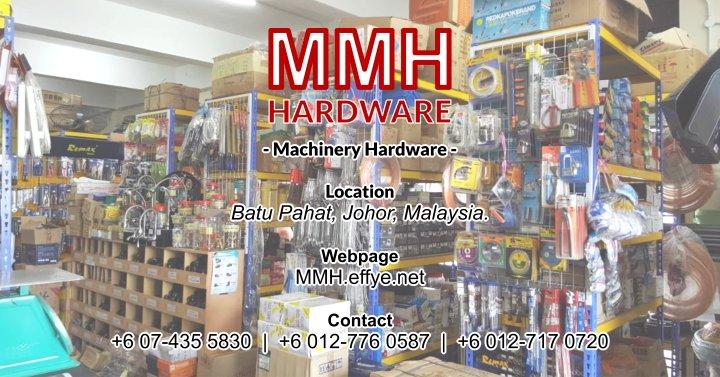Malaysia Johor Batu Pahat Megah Machinery Hardware Sdn Bhd Ang Ee Meng 洪维明 马来西亚 柔佛 峇株巴辖 全能机械五金有限公司 工业设备 液压机械 A00-01