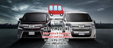 MBD Limousine Johor Bahru Transport and Car Rental Malaysia Transport and Car Rental Singapore Transport and Car Rental Transport between Malaysia and Singapore PA01-03