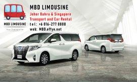 MBD Limousine Johor Bahru Transport and Car Rental Malaysia Transport and Car Rental Singapore Transport and Car Rental Transport between Malaysia and Singapore PA01-06