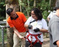 和平团契少年生活营 2018 你是谁 认识你自己 Peace Fellowship Youth Camp 2018 Who Are You Know Yourself Skytrex Melaka Adventure Taman Botanikal Ayer Keroh A03