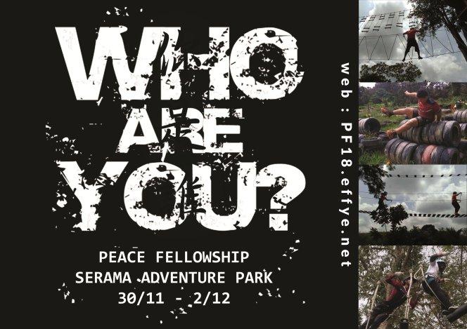 和平团契少年生活营 2018 你是谁 认识你自己 Peace Fellowship Youth Camp 2018 Who Are You Know Yourself A01