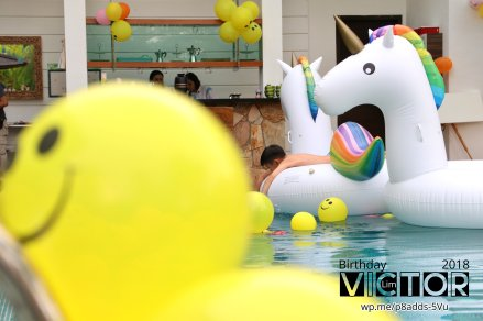 Victor Lim Birthday 2018 in Malaysia Party Buffet Swimming Fun A02
