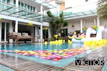 Victor Lim Birthday 2018 in Malaysia Party Buffet Swimming Fun A08
