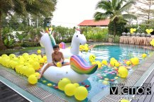 Victor Lim Birthday 2018 in Malaysia Party Buffet Swimming Fun A11