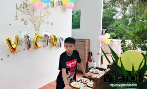 Victor Lim Birthday 2018 in Malaysia Party Buffet Swimming Fun A21