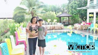 Victor Lim Birthday 2018 in Malaysia Party Buffet Swimming Fun A34
