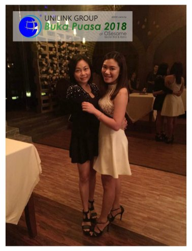 Unilink Group Buka Puasa Dinner 2018 Selamat Hari Raya Aidilfitri from Agensi Pekerjaan Unilink Prospects Sdn Bhd at Osesame Secret Bar and Bistro 09
